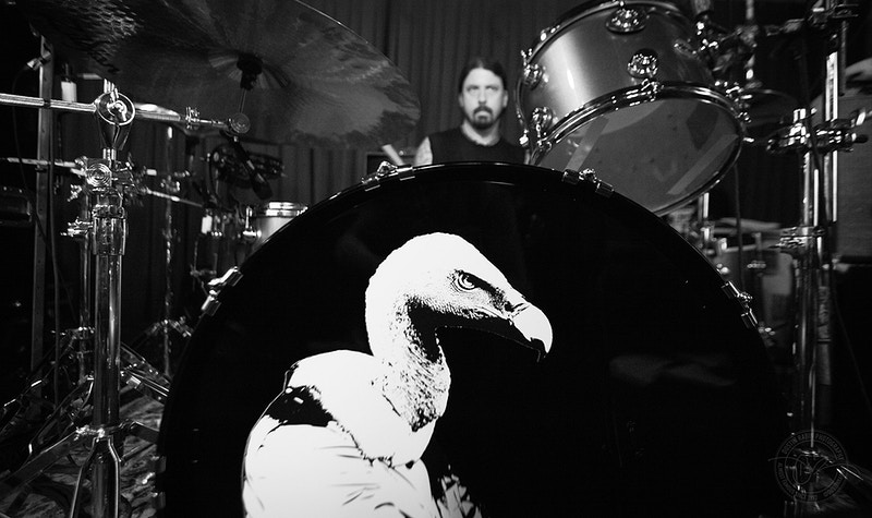 Them Crooked Vultures - Rehearsal, 2009 - Dustin Rabin Photography
