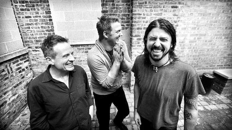Them Crooked Vultures - 2009 - Dustin Rabin Photography