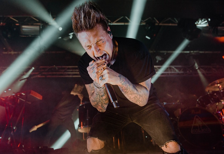 Papa Roach - Ellie Mitchell Photography