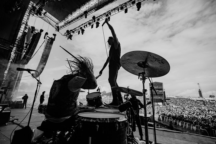 Underoath - Ellie Mitchell Photography