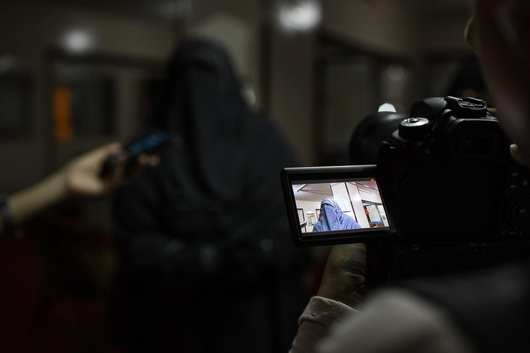 Egypt Women Candidates Work The Campaign Trail 2015 - EMAN HELAL