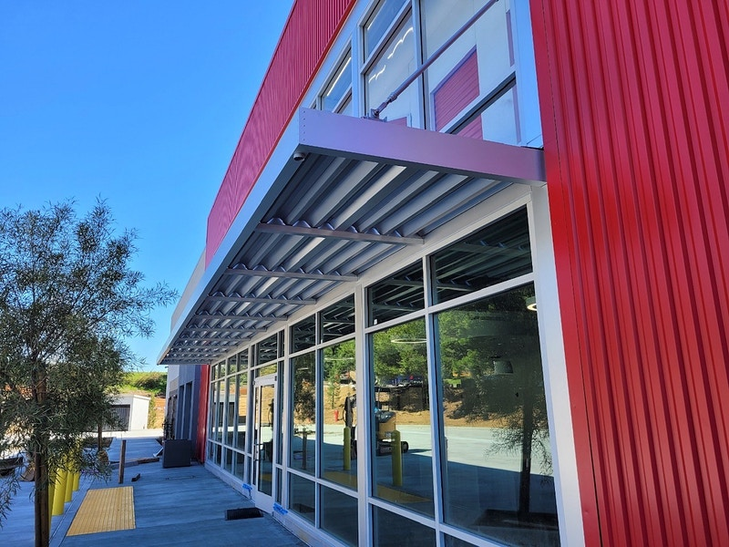 NORTH OAKS SELF STORAGE, Carlsbad - Architectural Sheet Metal | Emerald Metal Products
