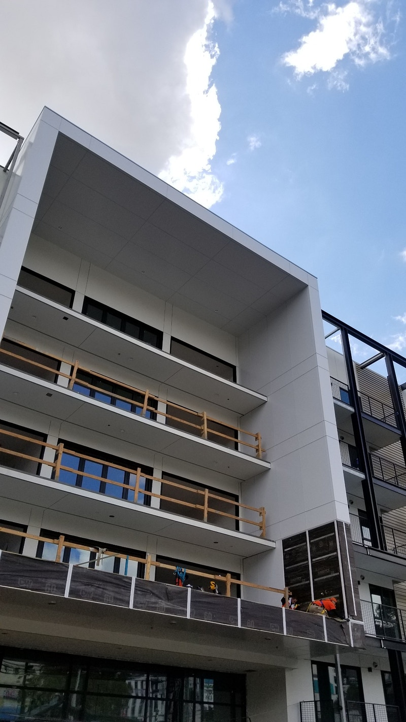 LAS PALMAS APARTMENTS - Hollywood, CA - Architectural Sheet Metal | Emerald Metal Products