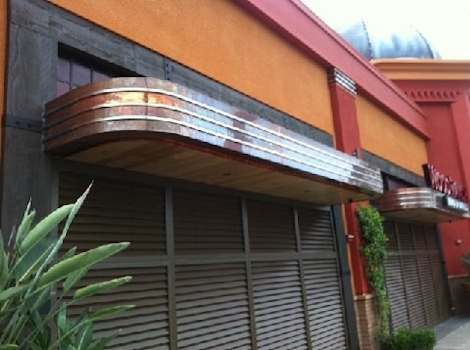 WOODRANCH BBQ - Irvine Spectrum - Architectural Sheet Metal | Emerald Metal Products