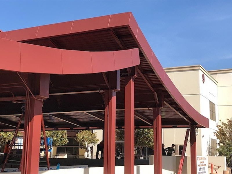 SOUTH COAST CHINESE CULTURAL CENTER - Irvine, CA - Architectural Sheet Metal | Emerald Metal Products