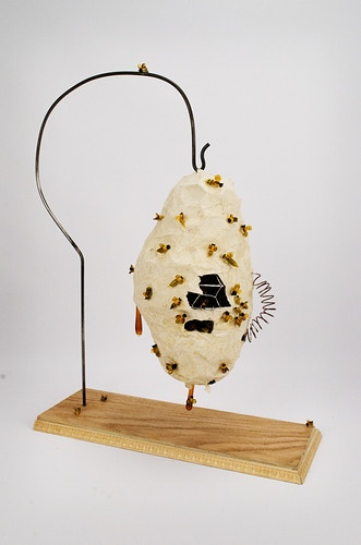Bees in the trap | Emily Bartelt & Bo Juel | Nature vs. Technology - E m i l y    B a r t e l t