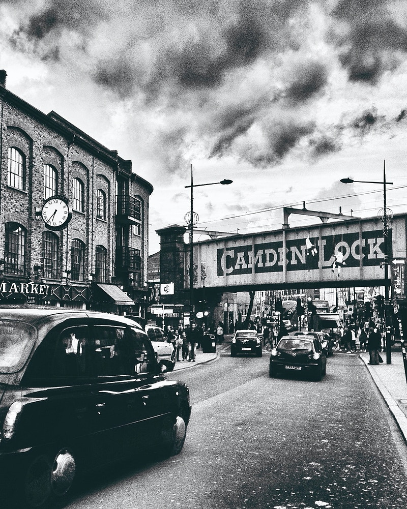 Camden Lock, London - Emily Coxhead