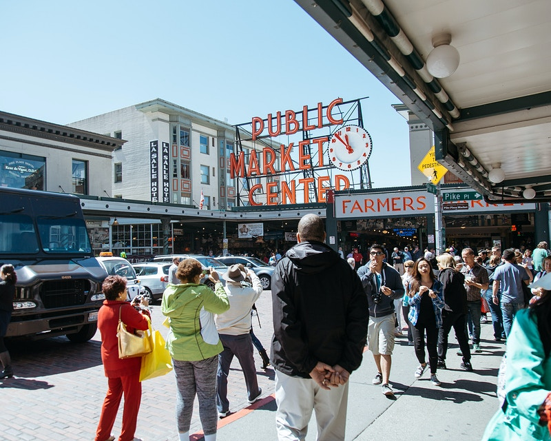 The Tourist Trap: Pike Place - Emily Joan Greene