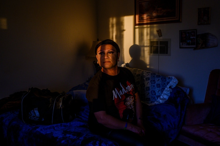 I Cant Be Myself Here At The Border Transgender Women Navigate 2 Worlds For New York Times - EMILY KASK