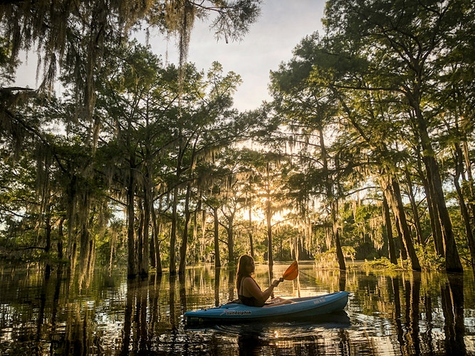 Atchafalaya Basin For Washington Post - EMILY KASK