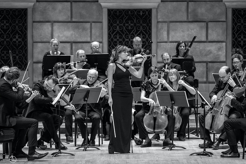 Orchestra Of The Aoe With Nicola Benedetti Eastman Presents Rochester Ny 021618 - Empire West Live | Music Photography Rochester NY | Rochester NY Music Photographer