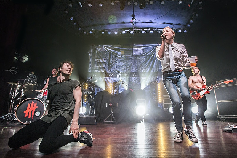 New Politics Buffalo Ny 11272015 - Empire West Live | Music Photography Rochester NY | Rochester NY Music Photographer