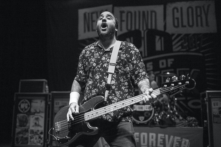 New Found Glory Town Ballroom 110317 - Empire West Live | Music Photography Rochester NY | Rochester NY Music Photographer