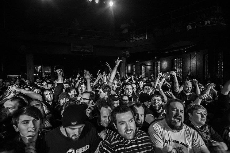 Less Than Jake Water St Music Hall 040314 - Empire West Live | Music Photography Rochester NY | Rochester NY Music Photographer