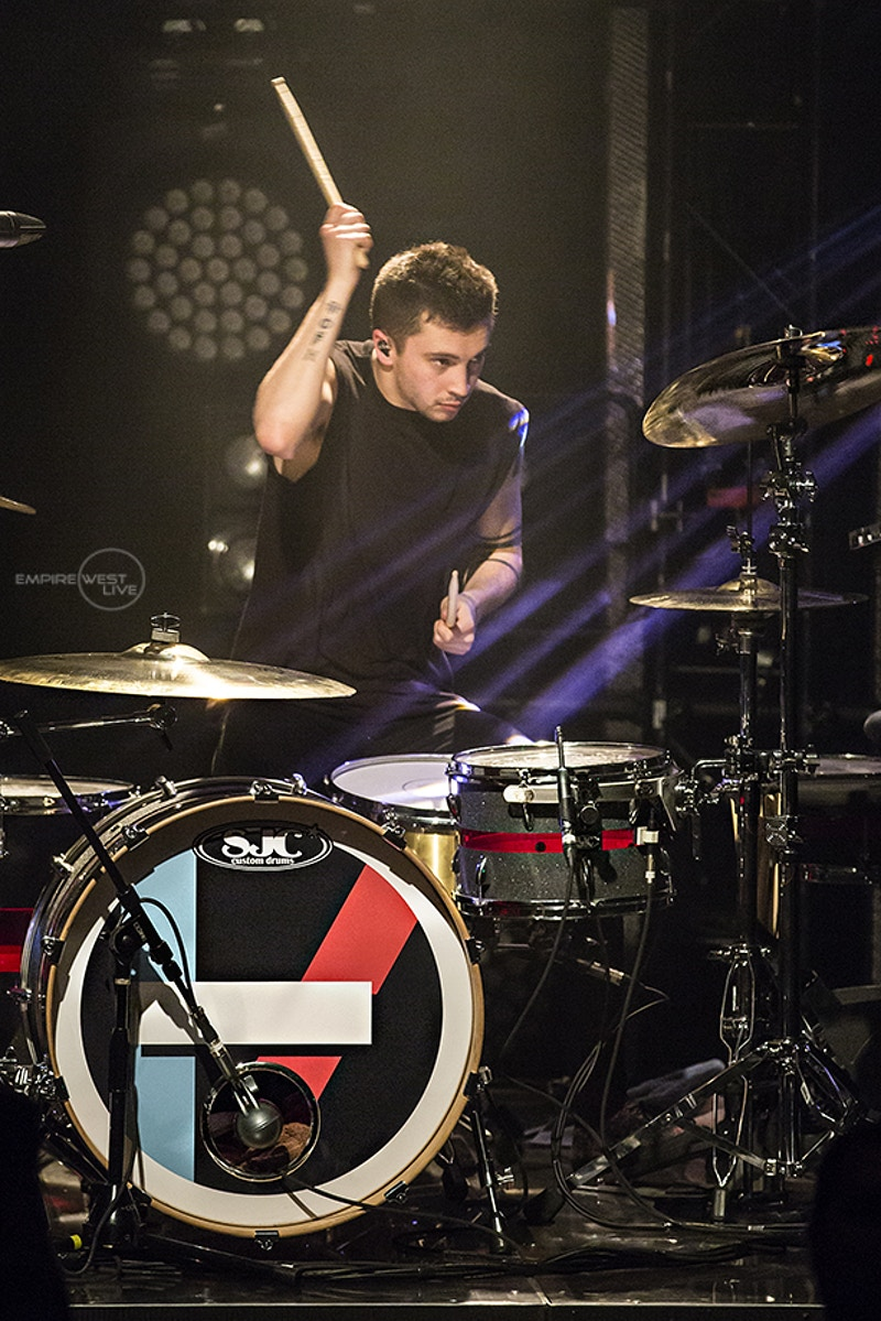 Twenty One Pilots Town Ballroom 042214 42215 - Empire West Live | Music Photography Rochester NY | Rochester NY Music Photographer