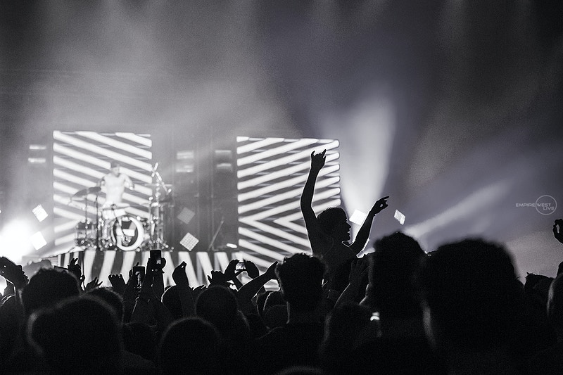 Twenty One Pilots Main St Armory 091014 - Empire West Live | Music Photography Rochester NY | Rochester NY Music Photographer