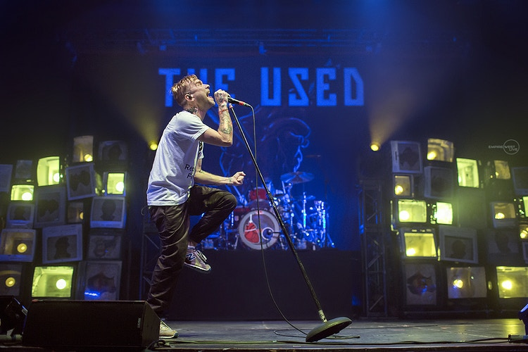The Used Chevelle Rochester Ny 050815 - Empire West Live | Music Photography Rochester NY | Rochester NY Music Photographer