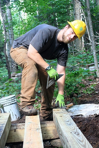 Forever Wild Trail Work In The Adirondacks - Erin D. Carter