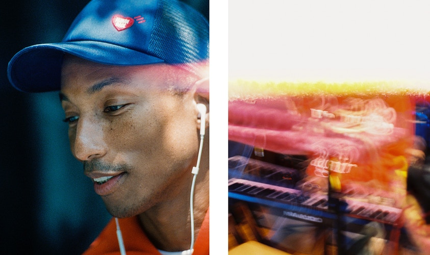Pharrell In Studio - Ethan Gulley | Los Angeles Photographer