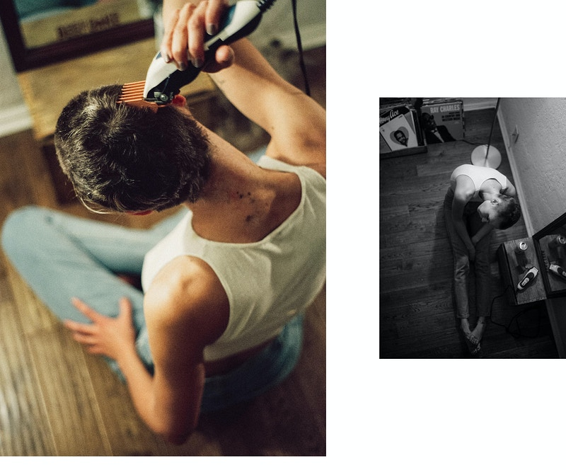 Shaved Live Fast Magazine - Ethan Gulley | Los Angeles Photographer