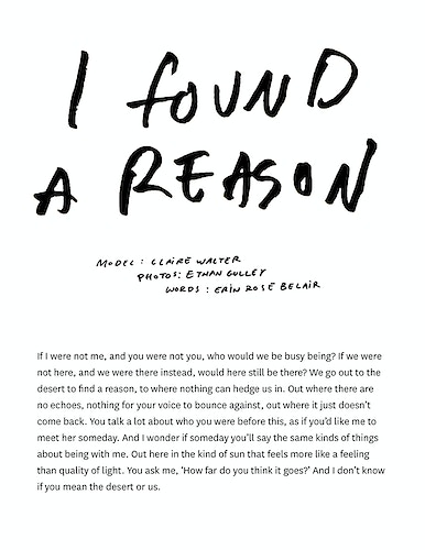 I Found A Reason Live Fast Magazine - Ethan Gulley | Los Angeles Photographer