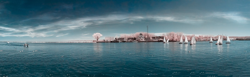 Panoramic Infrared - Ethan Whitecotton Photography
