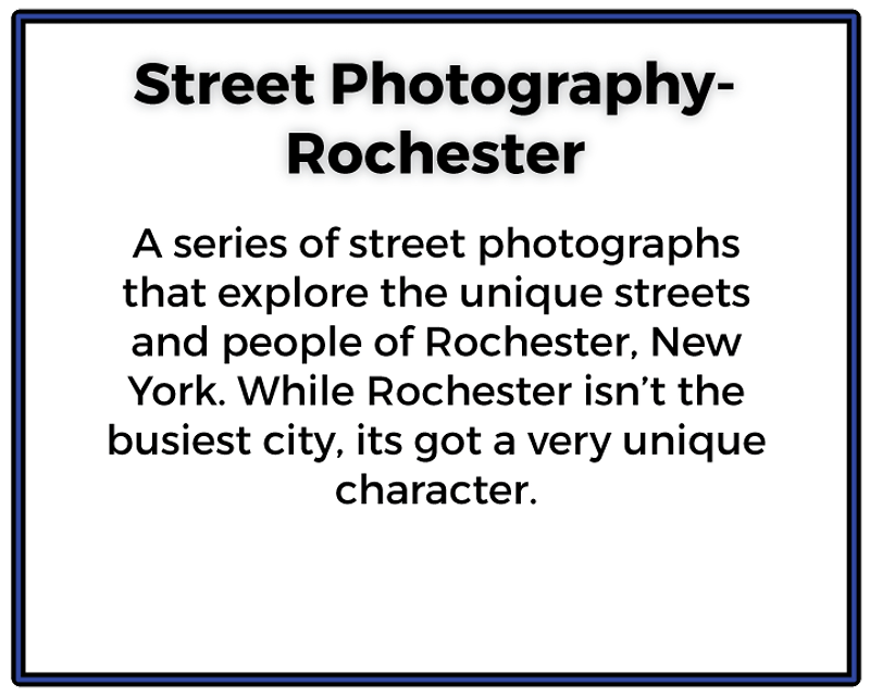 Street Photography Rochester - Ethan Whitecotton Photography