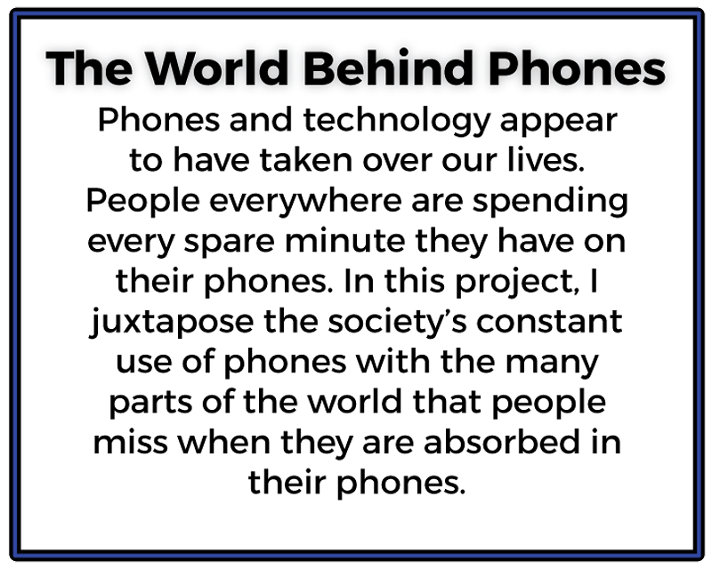 A World Behind Phones - Ethan Whitecotton Photography