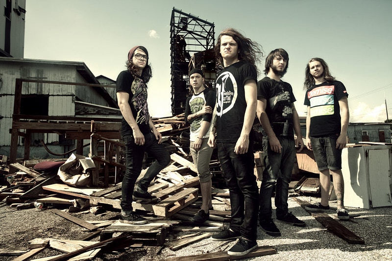Miss May I (Rise Records) - Evan Dell Photography