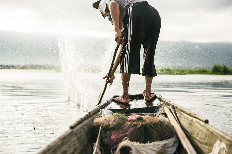 Fishermen Of Inle Lake - Evan Pantiel | Photographer | Sweden