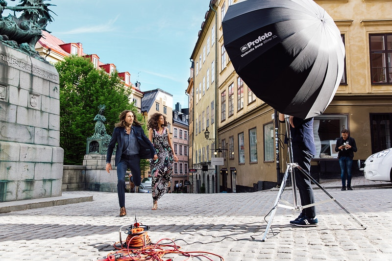 Profoto D2 And Pro 10 Bts - Evan Pantiel | Photographer | Sweden