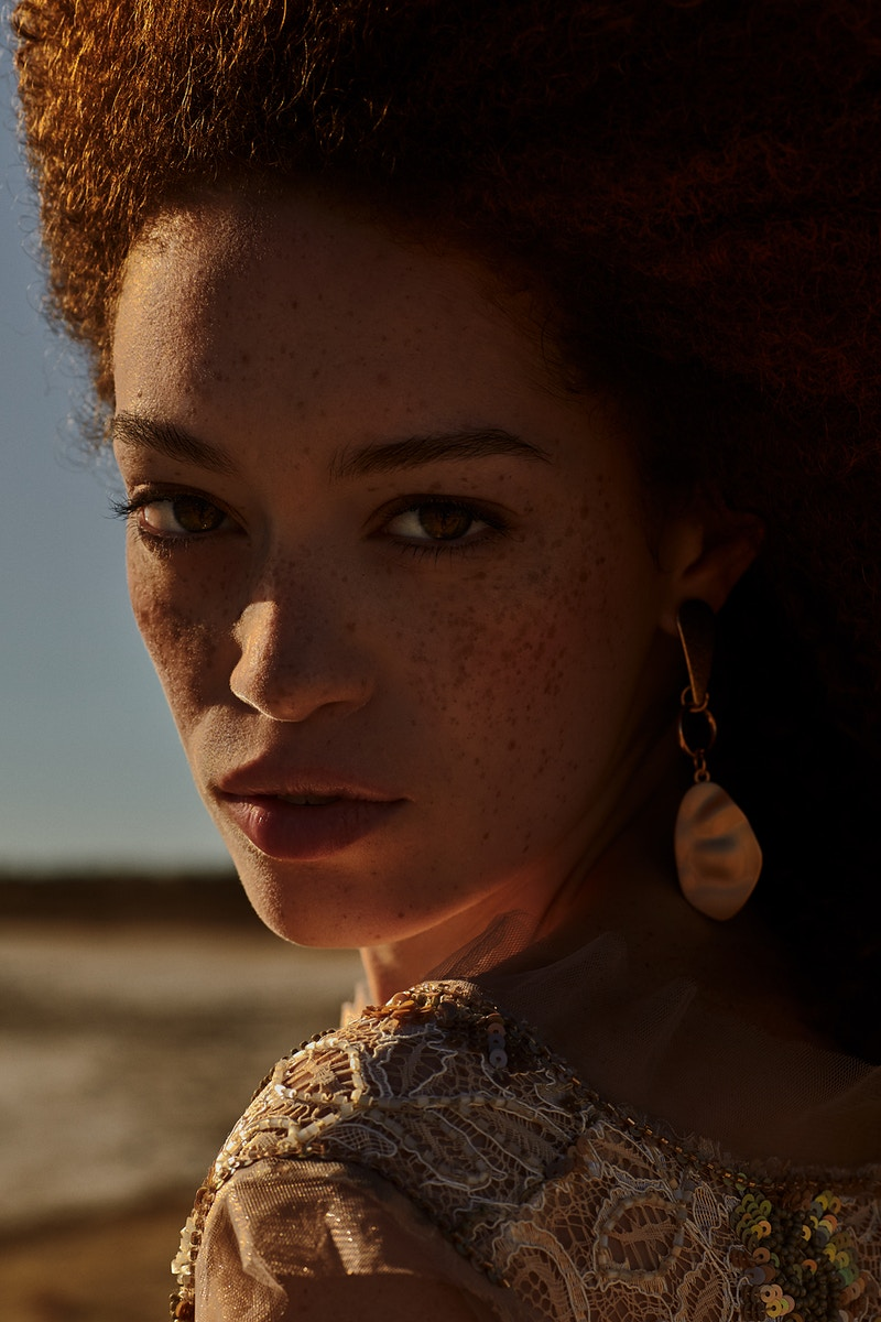 La Dame Aux Desert For Lofficiel - Felix Bernason Photographer