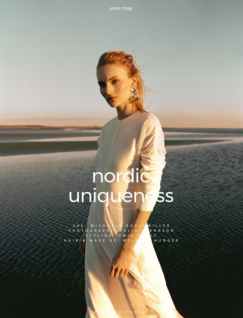 Nordic Uniquess Or Yoko Magazine - Felix Bernason Photographer