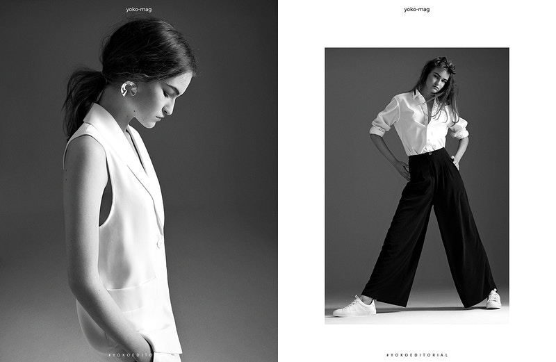 The Girl Marija Filipovic In Yoko Magazine 2 - Felix Bernason Photographer