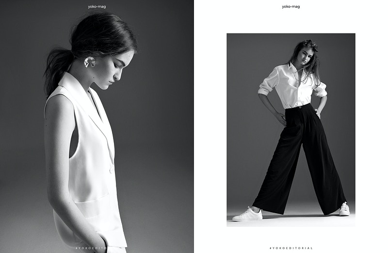 The Girl Marija Filipovic In Yoko Magazine - Felix Bernason Photographer