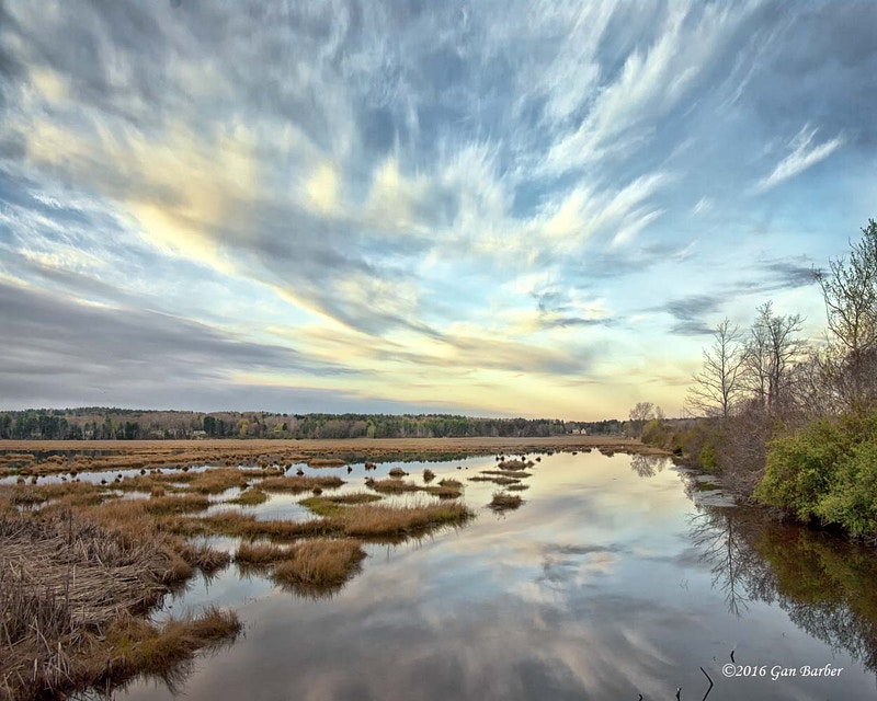 Scarborough Marsh - Gan Barber Fine Art Photographs