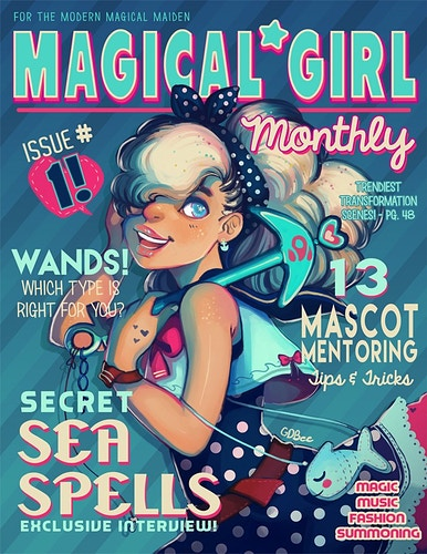 Magical Girl Monthly - GDBee ART