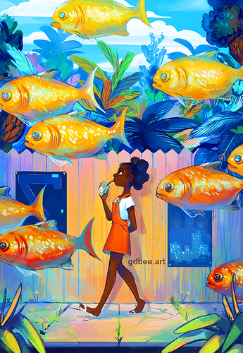 Illustration - GDBee ART