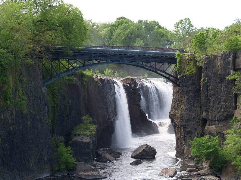 The Great Falls of the Passaic River - George Leroy Hunter Photography