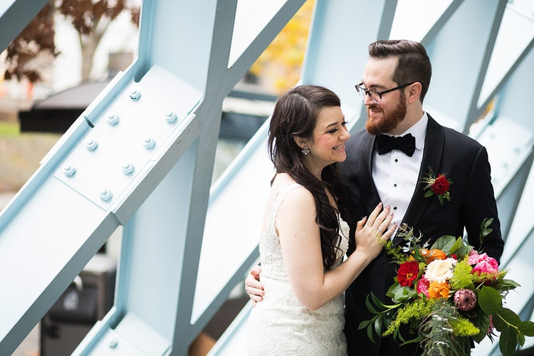 Jessica And Chris Temple Di Hirsch And Withinsodo - Ginger Bee Events & Planning | Seattle Wedding Planning & Design