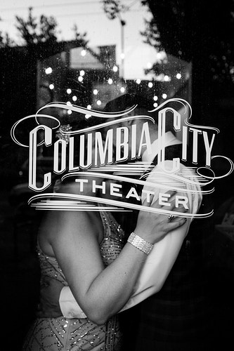 Cass And Andrew Columbia City Theater - Ginger Bee Events & Planning | Seattle Wedding Planning & Design