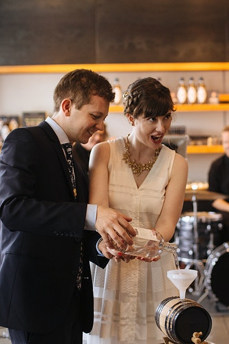 Sarah And Daron Westland Distillery - Ginger Bee Events & Planning | Seattle Wedding Planning & Design