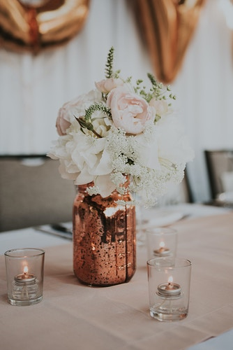 Alisha And Derek Olympic Rooftop Pavilion - Ginger Bee Events & Planning | Seattle Wedding Planning & Design