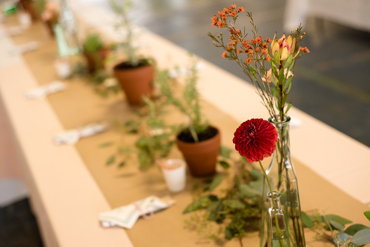 Reception Flowers - Ginger Bee Events & Planning   Seattle Wedding Planning & Design
