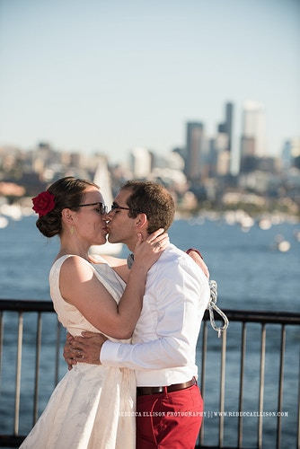 Emily And Mikey Gasworks And Milstead Coffee - Ginger Bee Events & Planning | Seattle Wedding Planning & Design