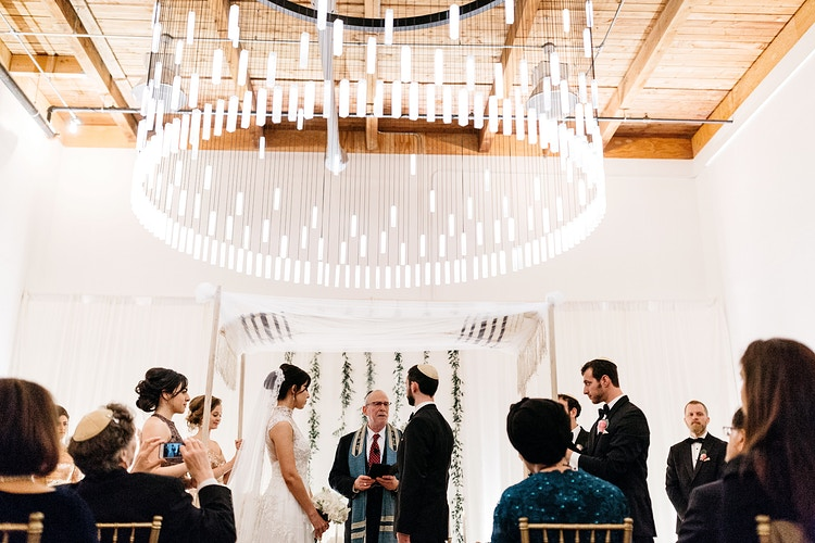 Samira And Dan Canvas Event Space - Ginger Bee Events & Planning | Seattle Wedding Planning & Design