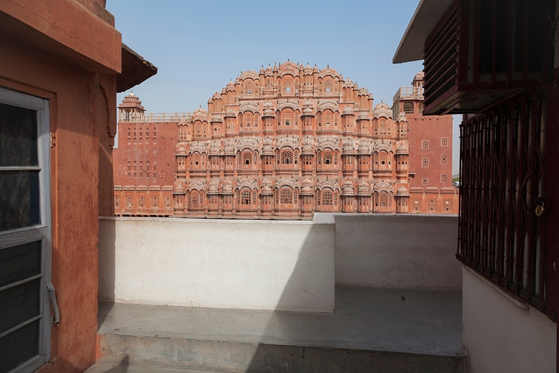 HAWA MAHAL 'PALACE OF THE BREEZE' JAIPUR. - GRAHAM GUY BARRATT