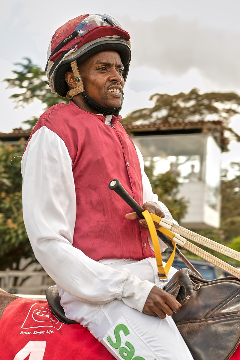 JOCKEY NUMBER 4 KENYA OAKS 2019 - GRAHAM GUY BARRATT
