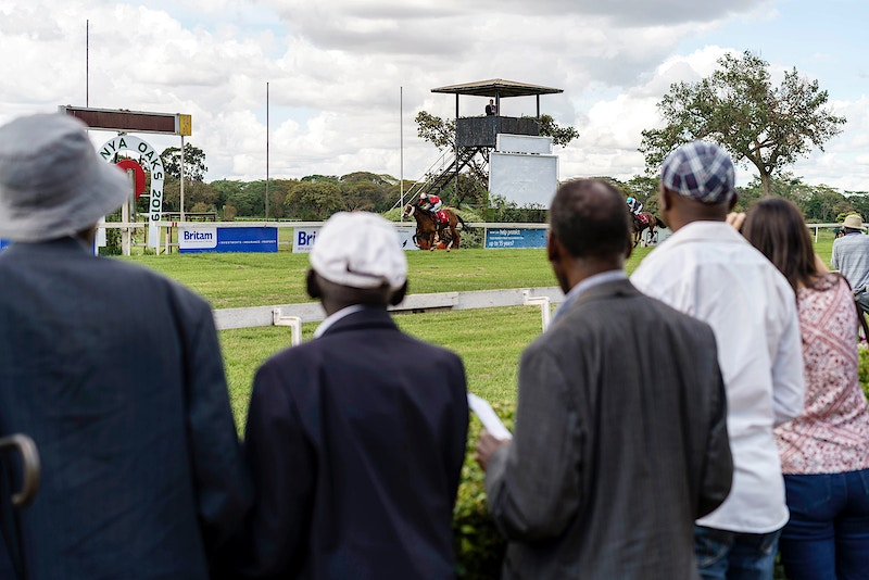 HOMEWARD BOUND. NGONG RACECOURSE, NAIROBI. 12TH MAY 2019. - GRAHAM GUY BARRATT