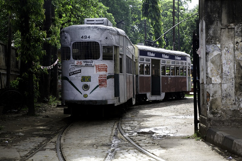 STREET CARS CALCUTTA - GRAHAM GUY BARRATT